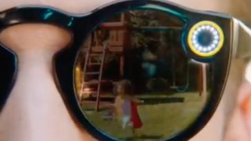 Les lunettes connectées de Snapchat