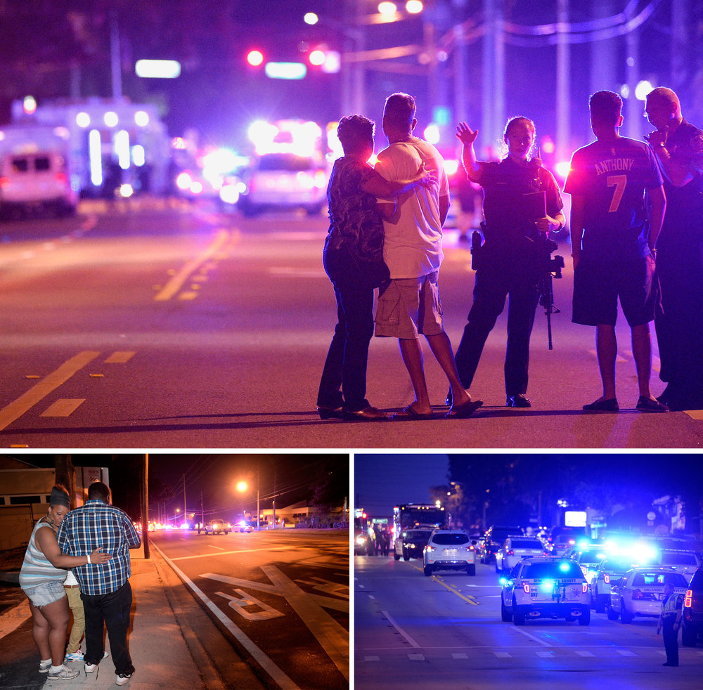Orlando - quelques heures après le massacre